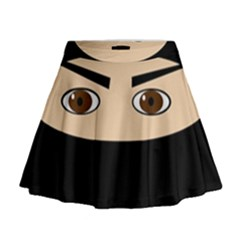 Ninja Mini Flare Skirt by Valentinaart