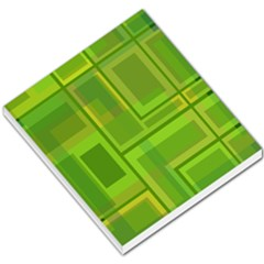 Green Pattern Small Memo Pads by Valentinaart