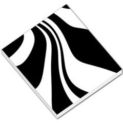 Black And White Pattern Small Memo Pads by Valentinaart