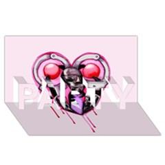 Bdsm Love Party 3d Greeting Card (8x4)  by lvbart