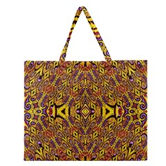 Apart Art Zipper Large Tote Bag by MRTACPANS