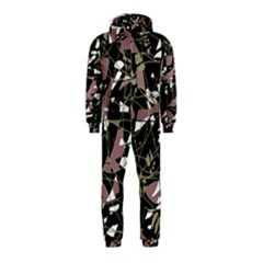 Artistic abstract pattern Hooded Jumpsuit (Kids) by Valentinaart