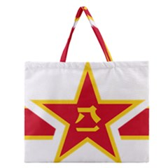 Roundel Of The People s Liberation Army Air Force Zipper Large Tote Bag by abbeyz71
