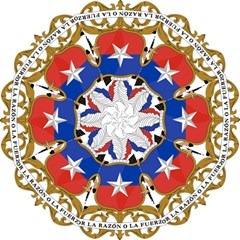 Coat Of Arms Of Chile  Folding Umbrellas