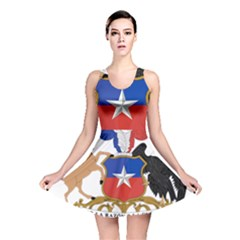 Coat Of Arms Of Chile  Reversible Skater Dress