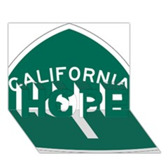California 1 State Highway   Pch Hope 3d Greeting Card (7x5) by abbeyz71
