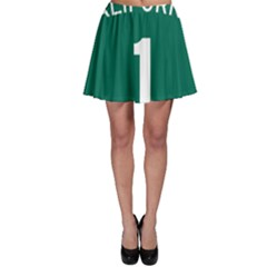 California 1 State Highway   Pch Skater Skirt by abbeyz71