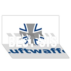 Luftwaffe Best Sis 3d Greeting Card (8x4)