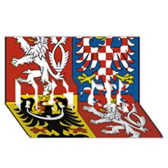 Coat Of Arms Of The Czech Republic Best Sis 3d Greeting Card (8x4) by abbeyz71