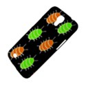 Green and orange bug pattern Samsung Galaxy Mega 6.3  I9200 Hardshell Case View4