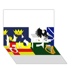 Four Provinces Flag Of Ireland Hope 3d Greeting Card (7x5)
