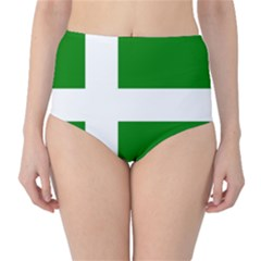Flag Of Puerto Rican Independence Party High Waist Bikini Bottoms