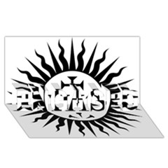 Society Of Jesus Logo (jesuits) Engaged 3d Greeting Card (8x4) by abbeyz71