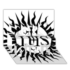 Society Of Jesus Logo (jesuits) You Did It 3d Greeting Card (7x5) by abbeyz71