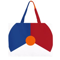 Roundel Of The Royal Netherlands Air Force Large Tote Bag by abbeyz71