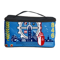 Flag Of Milwaukee Cosmetic Storage Case by abbeyz71
