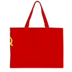 Flag Of The Soviet Union  Large Tote Bag by abbeyz71