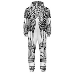 Emblem Of India Hooded Jumpsuit (Men)  by abbeyz71