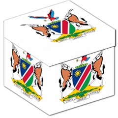 Coat Of Arms Of Namibia Storage Stool 12   by abbeyz71