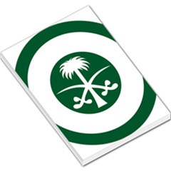Roundel Of The Royal Saudi Air Force Large Memo Pads by abbeyz71