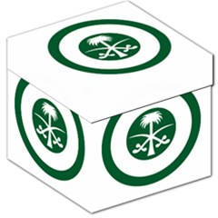 Roundel Of The Royal Saudi Air Force Storage Stool 12   by abbeyz71