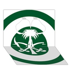 Roundel Of The Royal Saudi Air Force Clover 3d Greeting Card (7x5) by abbeyz71