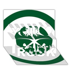 Roundel Of The Royal Saudi Air Force You Rock 3d Greeting Card (7x5) by abbeyz71