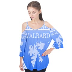 Coat Of Arms Of Svalbard Flutter Tees by abbeyz71