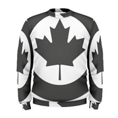 Low Visibility Roundel Of The Royal Canadian Air Force Men s Sweatshirt