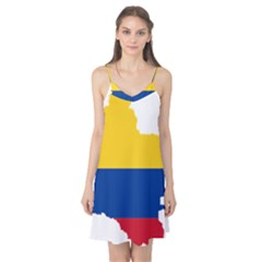 Flag Map Of Colombia Camis Nightgown by abbeyz71