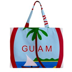 Seal Of Guam Zipper Mini Tote Bag by abbeyz71