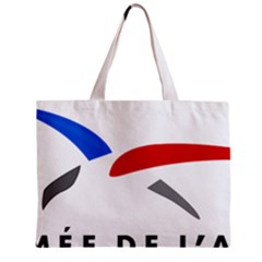 Logo Of The French Air Force (armee De L air) Zipper Mini Tote Bag by abbeyz71