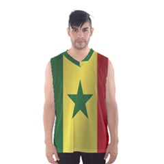 Flag Of Senegal Men s Basketball Tank Top by artpics