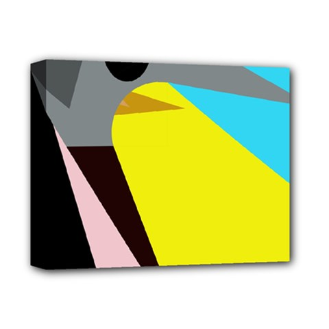 Angry Bird Deluxe Canvas 14  X 11  by Valentinaart