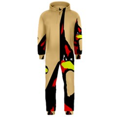 Angry Bird Hooded Jumpsuit (Men)  by Valentinaart