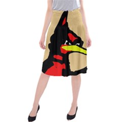 Angry Bird Midi Beach Skirt