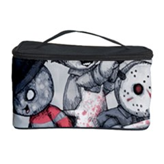 Horror Trifecta Plushie  Cosmetic Storage Case by lvbart