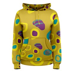 Yellow Abstraction Women s Pullover Hoodie by Valentinaart
