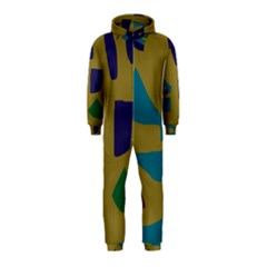 Colorful Abstraction Hooded Jumpsuit (kids) by Valentinaart
