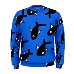 Cute Fishes Men s Sweatshirt by Valentinaart