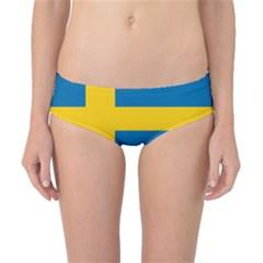 Flag Of Sweden Classic Bikini Bottoms by abbeyz71