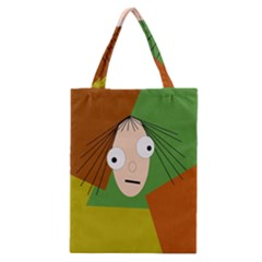Crazy Girl Classic Tote Bag by Valentinaart