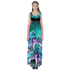 Galaxy Empire Waist Maxi Dress