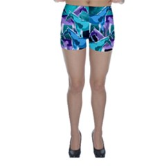 Horses Under A Galaxy Skinny Shorts