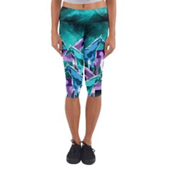 Galaxy Capri Yoga Leggings
