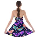 Colorful High Heels Pattern Strapless Bra Top Dress View2