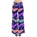 Colorful High Heels Pattern Women s Chic Palazzo Pants