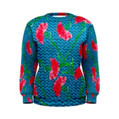 Carnations Women s Sweatshirt