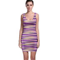 Abstract1 Sleeveless Bodycon Dress by olgart