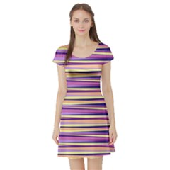 Abstract1 Short Sleeve Skater Dress by olgart